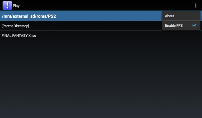 Play! un émulateur PS2 pour Android Screen14