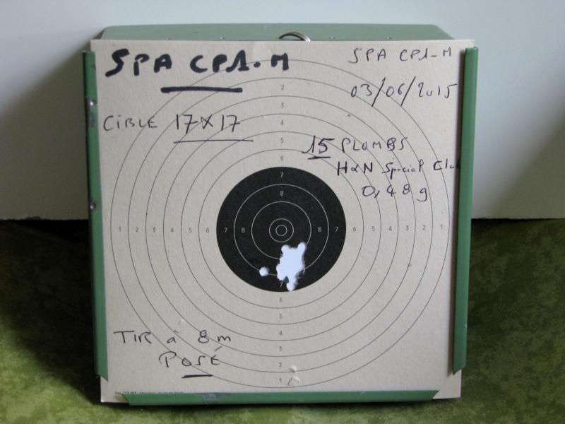 Mes premiers Cartons avec le SPA CP1-M en Cal. 4,5mm Chargeur 9 Coups. Img_0220