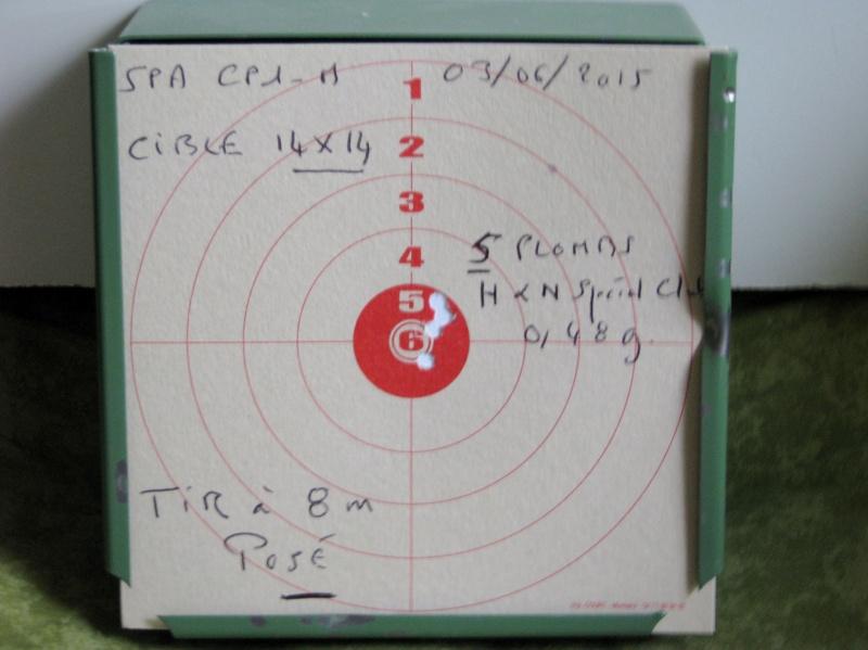 Mes premiers Cartons avec le SPA CP1-M en Cal. 4,5mm Chargeur 9 Coups. Img_0222