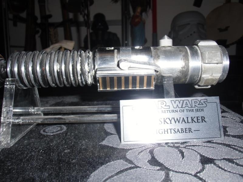 """Sabres laser Luke V2 et Darth Vader """"stunt"""" Luke_p10"""