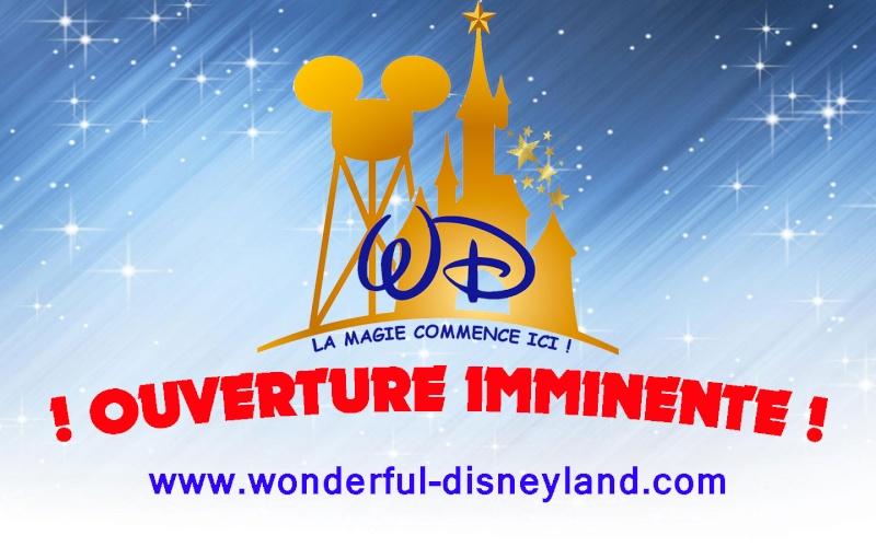 Wonderful Disneyland Ouvert10