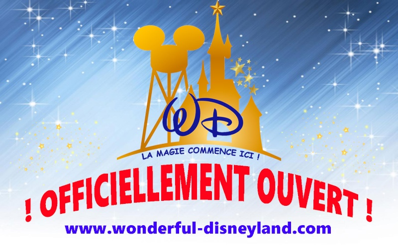 Wonderful Disneyland Ouvert11