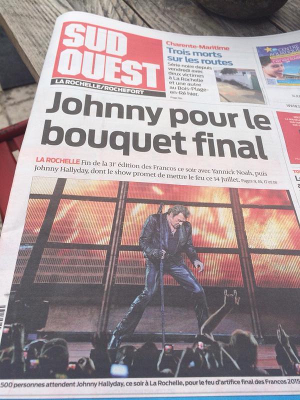 Johnny au Francofolies de La Rochelle - Page 6 La_roc11
