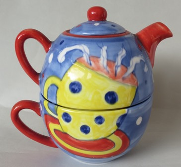 for gallery Studio Ceramics teapot cup set Studio10