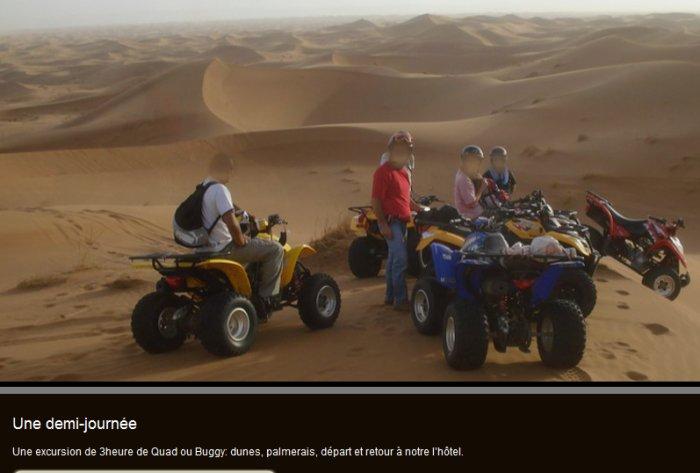 Itineraire decouverte Marrakech Dakhla Mhamide Elghizlane Treck110