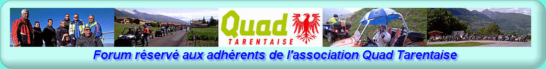 Forum Quad Tarentaise