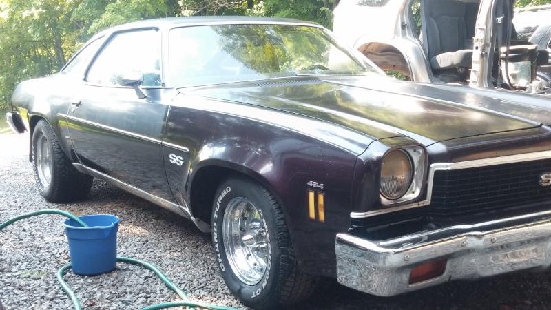 '73 Chevelle coupe progress Chevel27