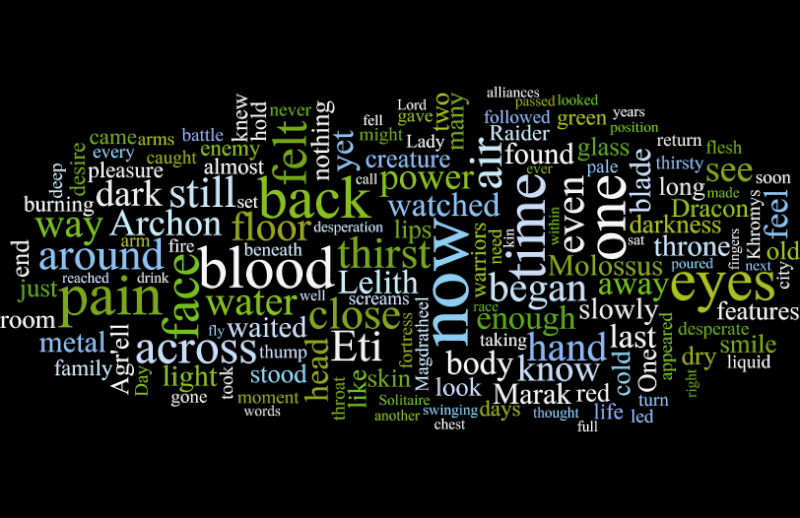 Secrets of the Hidden Library - 3rd Annual Fiction Competition. (COMPETITION OVER - winners on Page 3!) - Page 2 Wordle10