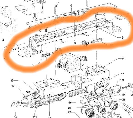 Comment se passer du moteur 5 pôles réf. 211901 Image110