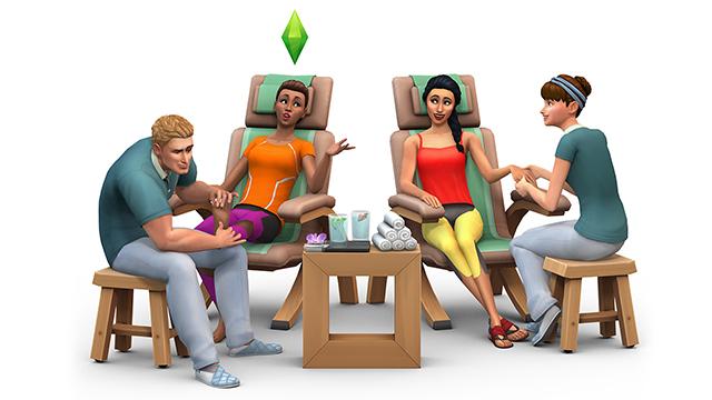 Les Sims 4 Pack de Jeu : Détente au Spa - Sortie le 14 Juillet Gp02re10