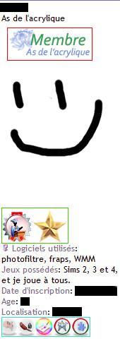 Les icônes du forum Psuedo10
