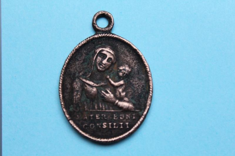Médaille sacré coeur de Jésus et Marie  XVIII -XIXème Img_1011