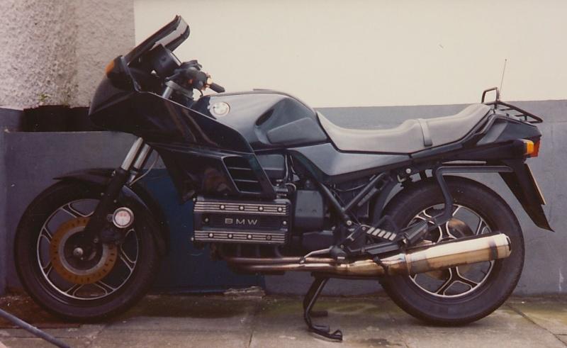 Do K100 riders own other bikes? K100rs11