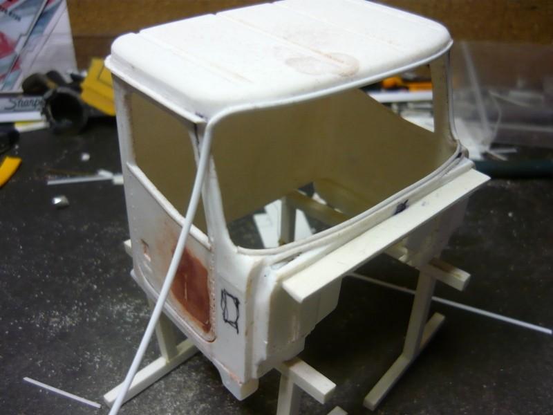 Cat CT 660 avec remorque Larochelle. P1130964