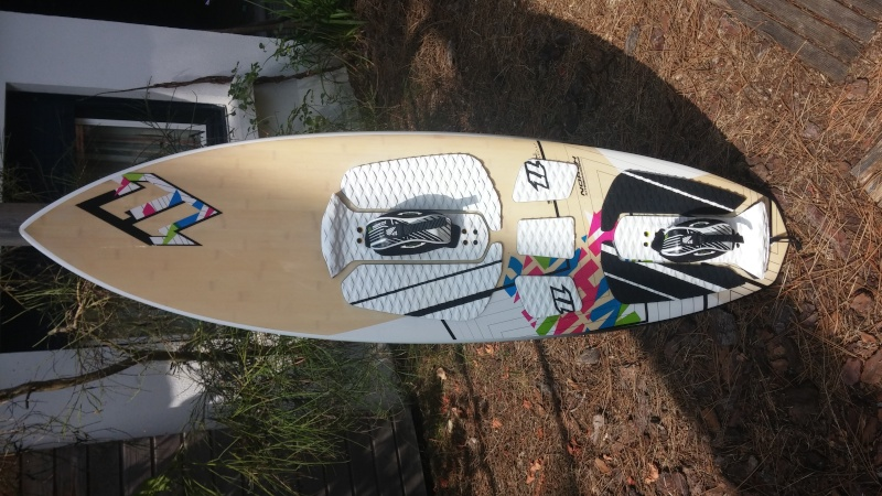[Vendu] Surf kite North Whip 2011, 320 Euros, Lacanau 20150810