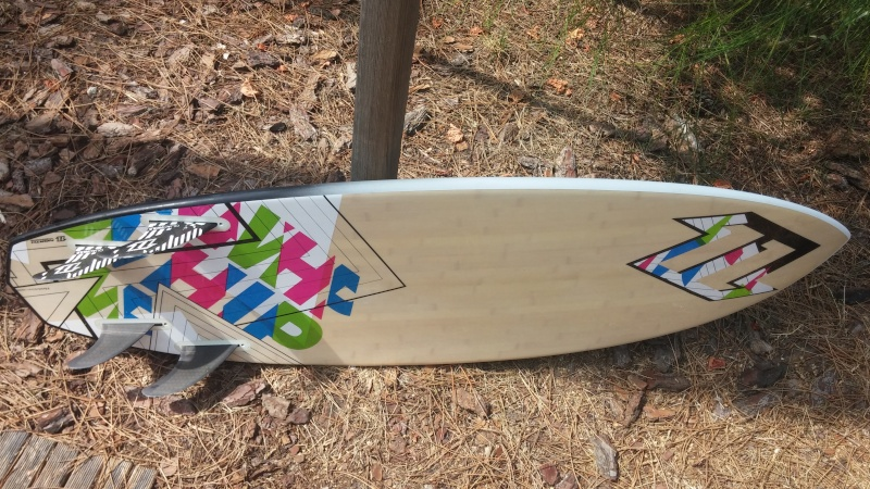 [Vendu] Surf kite North Whip 2011, 320 Euros, Lacanau 20150811