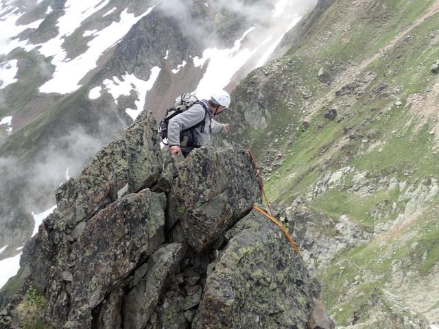 Compte-rendu de la sortie alpinisme Dent de Fenestral et Perrons de Vallorcine P6200018
