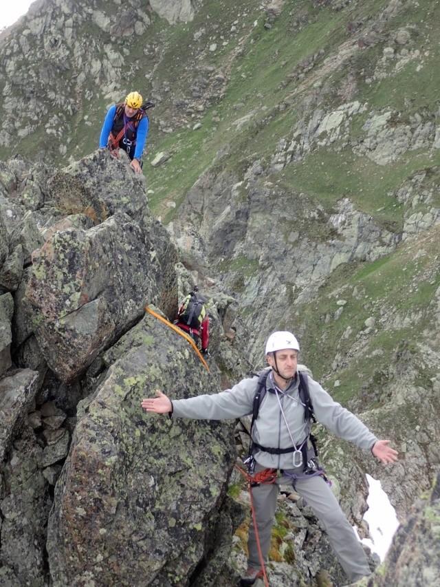 Compte-rendu de la sortie alpinisme Dent de Fenestral et Perrons de Vallorcine P6200019
