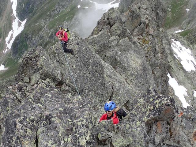 Compte-rendu de la sortie alpinisme Dent de Fenestral et Perrons de Vallorcine P6200020