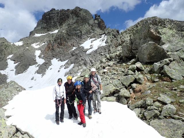 Compte-rendu de la sortie alpinisme Dent de Fenestral et Perrons de Vallorcine P6200022