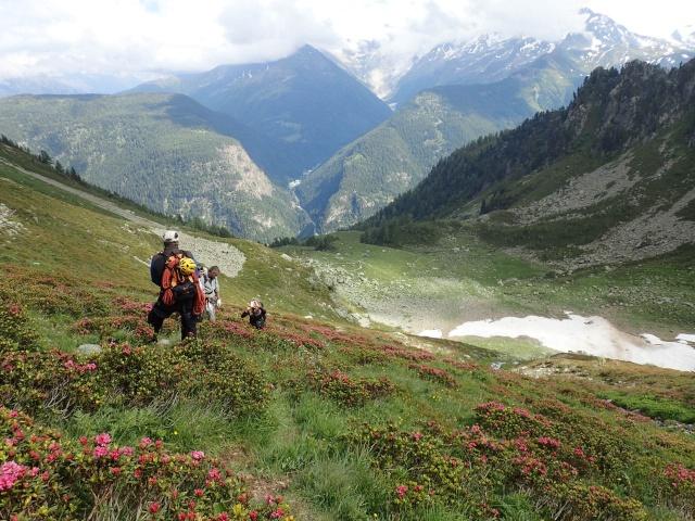 Compte-rendu de la sortie alpinisme Dent de Fenestral et Perrons de Vallorcine P6200024