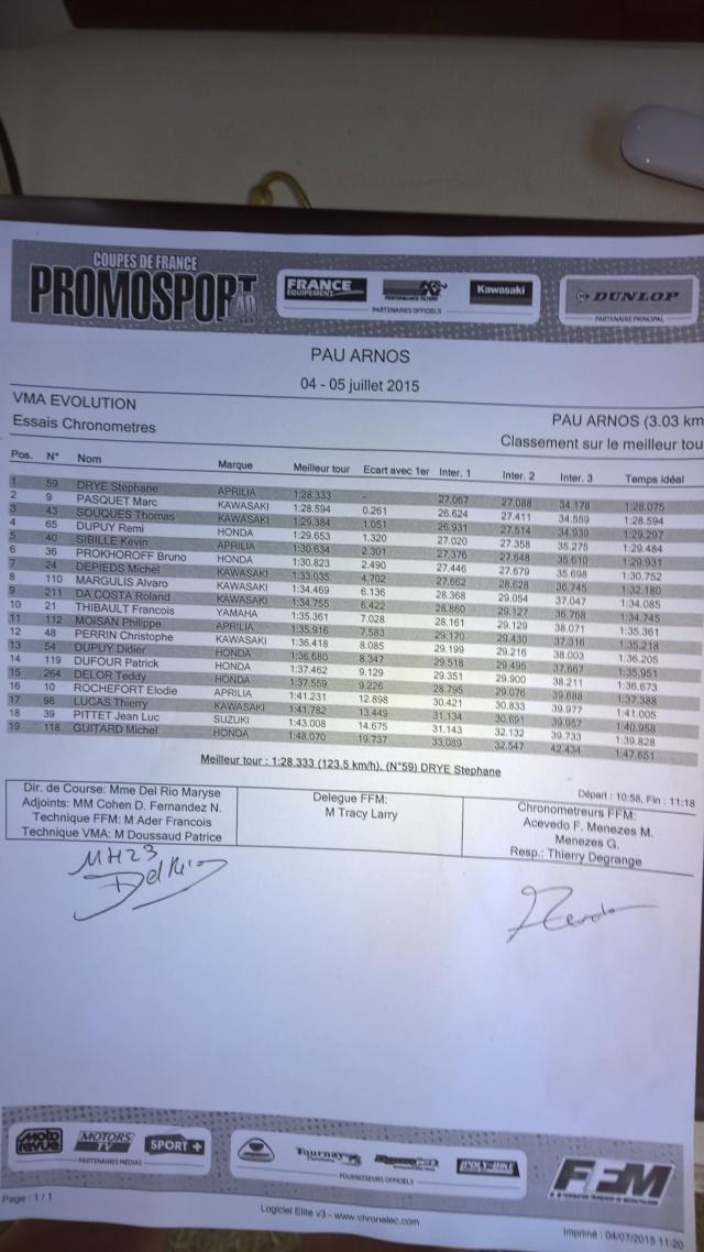 Mitch#24 Championnat de France VMA EVO : le petit CR de Pau  Qualif10
