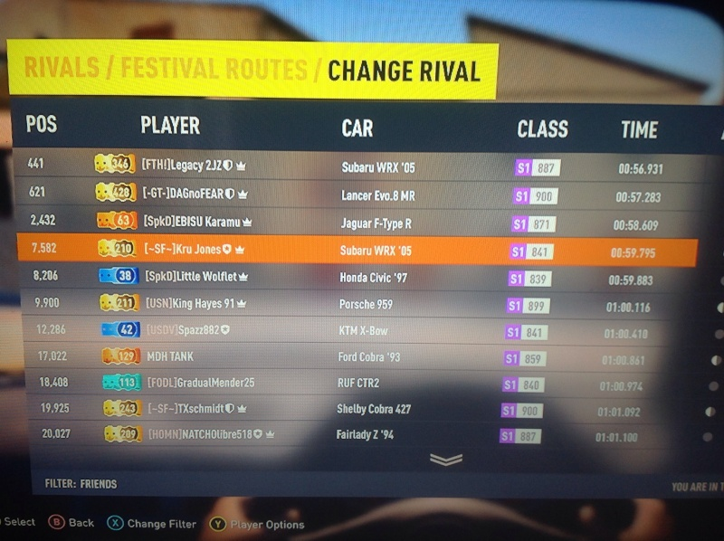 Time Attack #1 - Forza Horizon 2 // RESULTS UP! Image35
