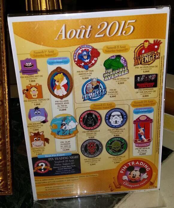 Le Pin Trading à Disneyland Paris - Page 6 11813410