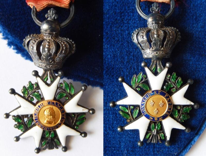 TERMINE - lot de quatres médailles - LEGION D'HONNEUR - SAINT SEPULCRE Dscn3210