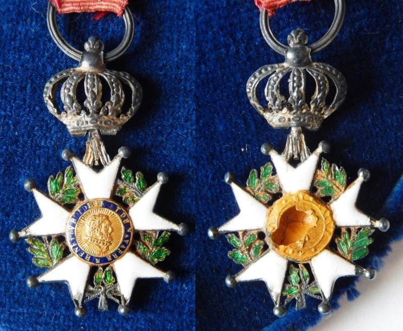 TERMINE - lot de quatres médailles - LEGION D'HONNEUR - SAINT SEPULCRE Dscn3211