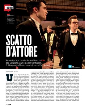 ITALIAN MAGAZINE CIAK FEATURES 'LIFE' 28910