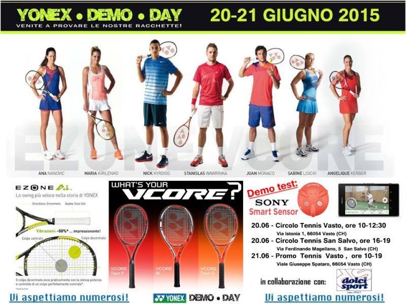 RADUNO 2015 YONEX DEMO DAYS - VASTO(CH) 20/21 GIUGNO Volant11