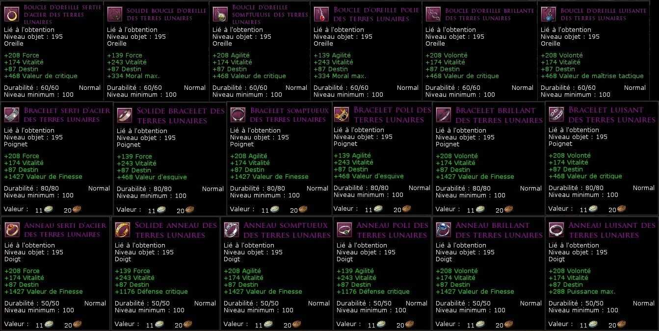 Les factions de réputation Bijoux11