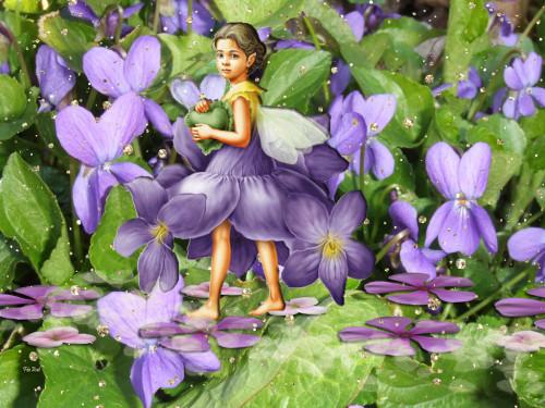 Nos amies les fleurs (Symbolisme) - Page 2 Violet10