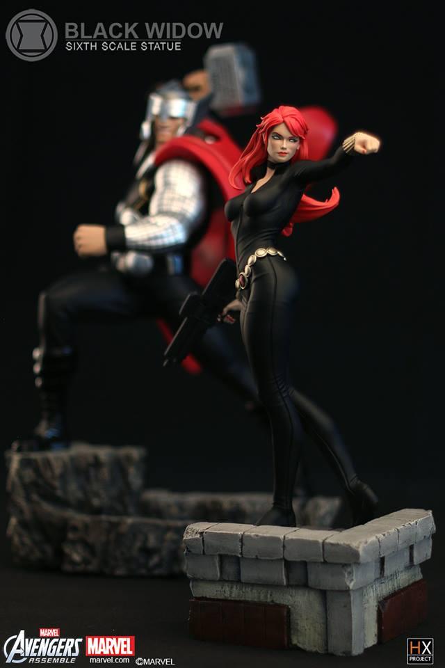 XM Studios : Black Widow Six Scale Statue 11900011