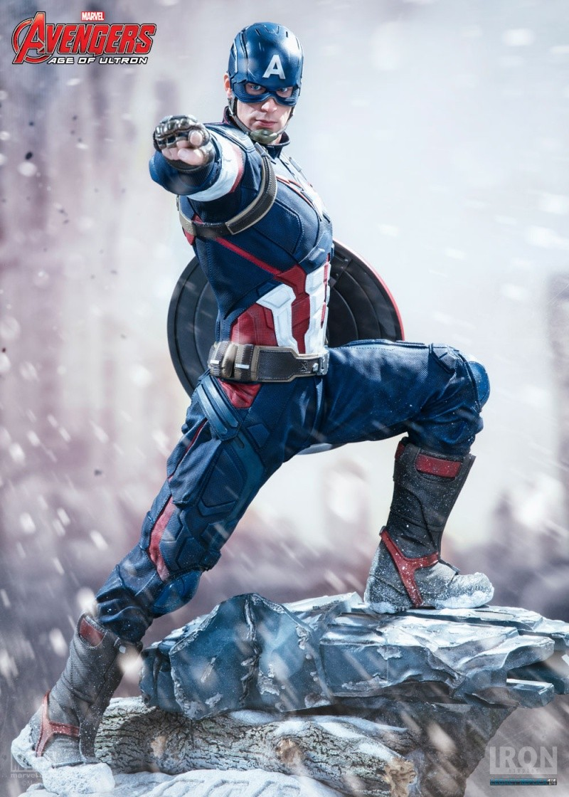 IRON STUDIOS: CAPTAIN AMERICA AVENGERS AGE OF ULTRON LEGACY 1/4 SCALE Img_1410