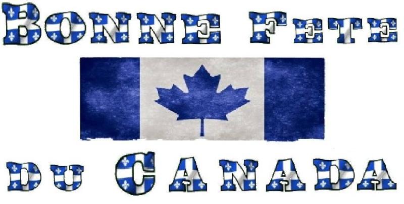 Bonne fête du Canada à tous 11403110