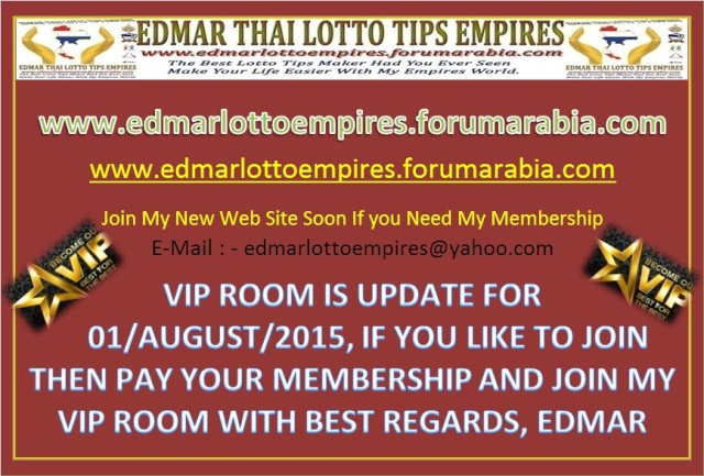 VIP ROOM IS UPDATE FOR 01/AUGUST/2015 Facebo16