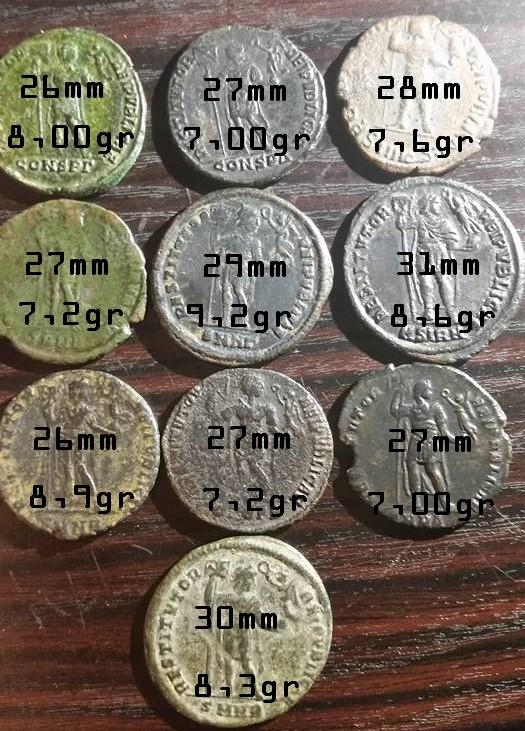 Grand bronze de Valens : ae1 ou médaillon ? Etude10