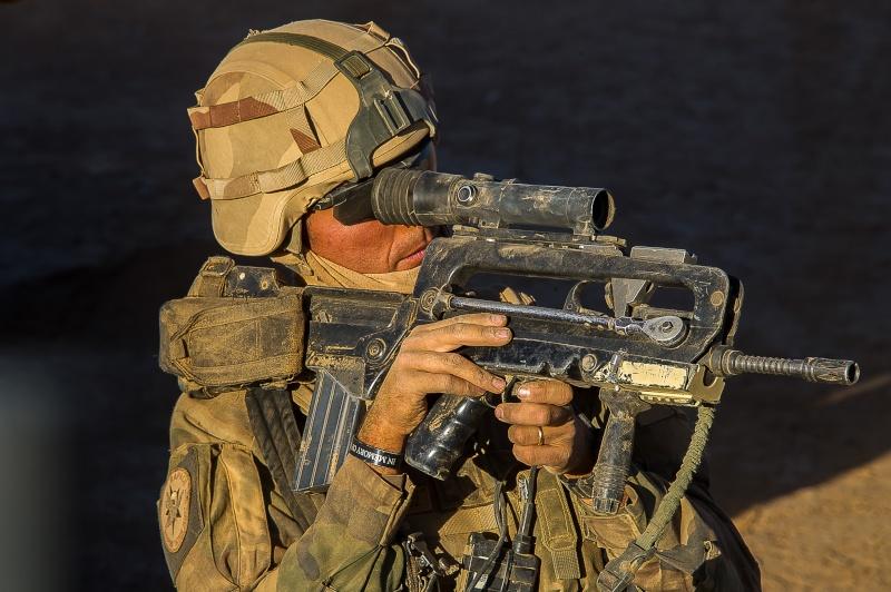 Belles photos de l'Opération BARKHANE - source: service communication 1er RCP Le_2_m11