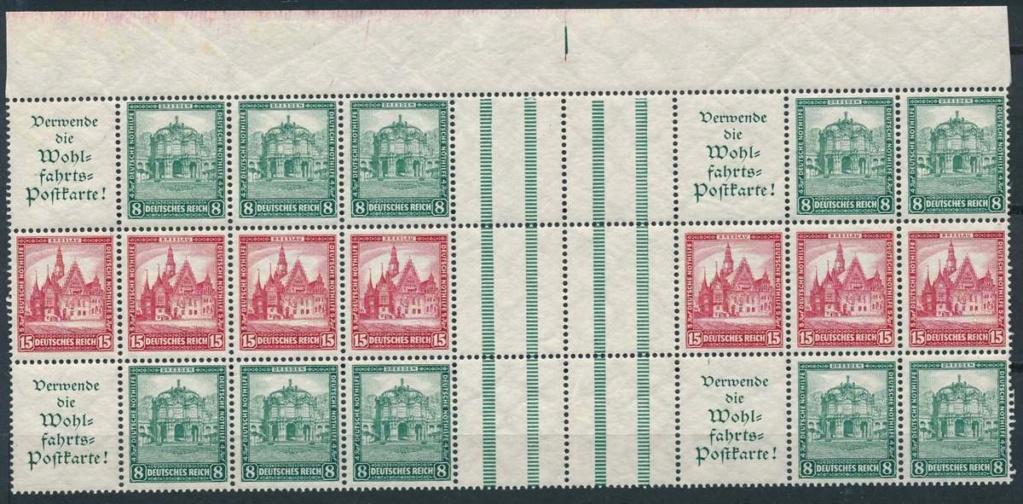 Deutsches Reich Zusammendrucke und Markenheftchen S-l16013