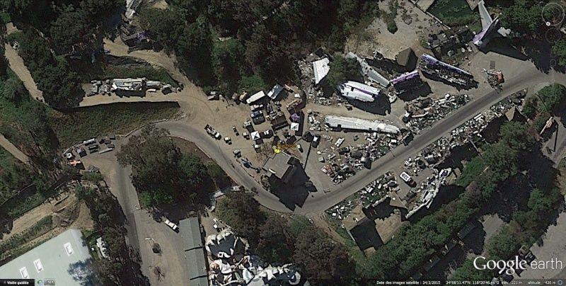 Lieux de tournages de films vus avec Google Earth Psycho10