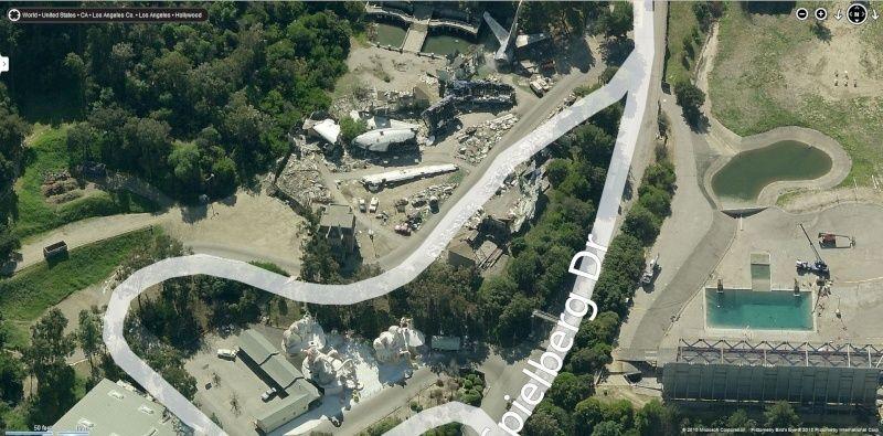 Lieux de tournages de films vus avec Google Earth Psycho11