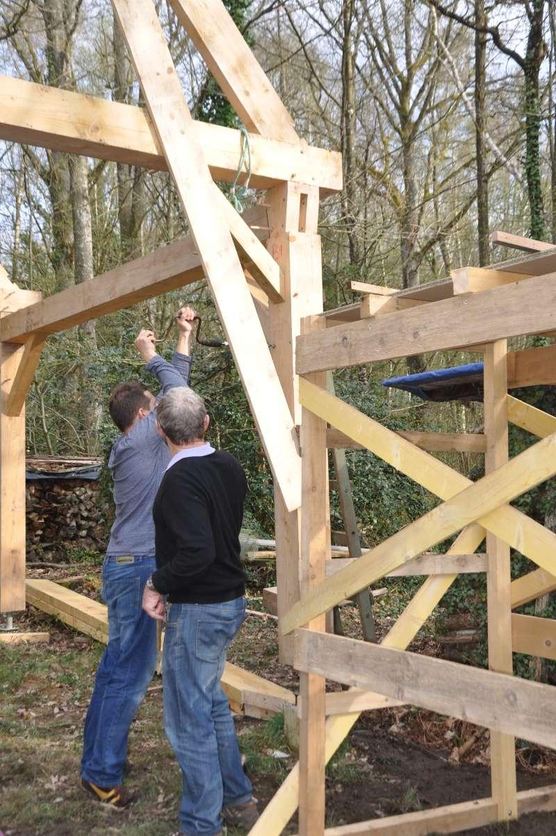 construction d'un abri en charpente - Page 10 11-04-11