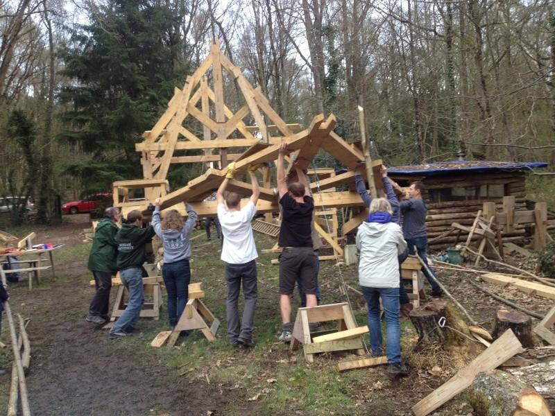 construction d'un abri en charpente - Page 10 11-04-14
