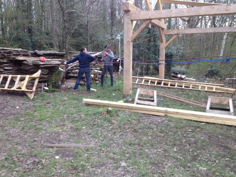 construction d'un abri en charpente - Page 10 11-04-22