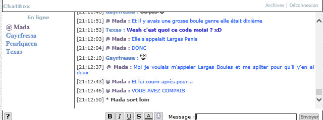 Instants Chatbox ! Mada210