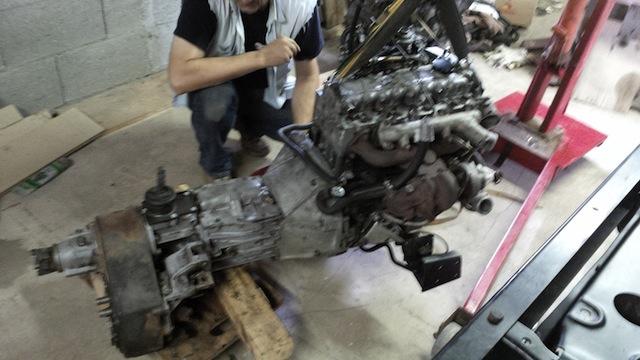 Swap moteur 2.1d -> 2.1 TD suite problème pivot embrayage Img_2023