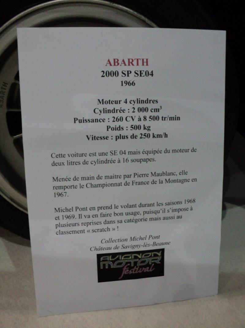 Abarth - 70 ans - 1949-2019 Dsc08511