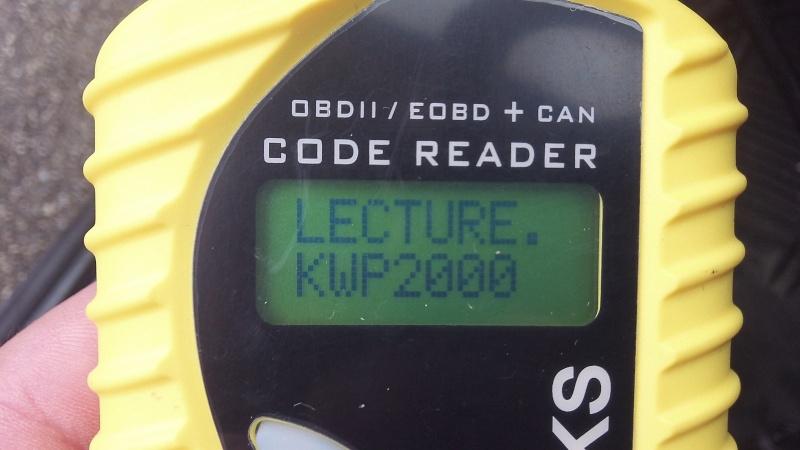 [ Peugeot 306 2.0 16S 135ch ] chaine d'erreur diagnostic 100_1113
